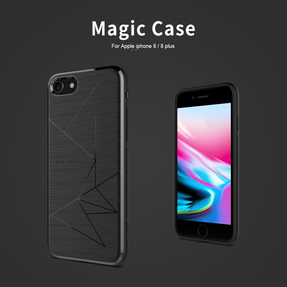 NILLKIN Magic Case For iphone 8/8 plus/iphone x/xs/xr/xs max Magnetic Function Matte Phone Back Cover For iphone 8 phone bags