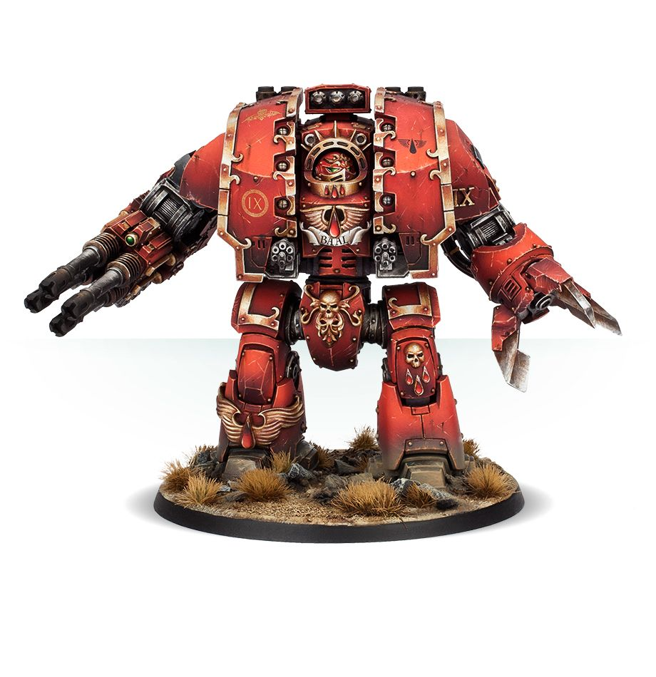 Blood Angels Leviathan Siege Dreadnought With Storm Cannon And Siege Claw