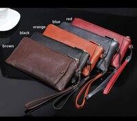 Genuine Cow Leather Hand Strap Pouch Case Bags For Xiaomi Redmi Note 7,Mi Play,Leagoo T8 T8S S10 M11,Doogee X60L X80 X60 X50L
