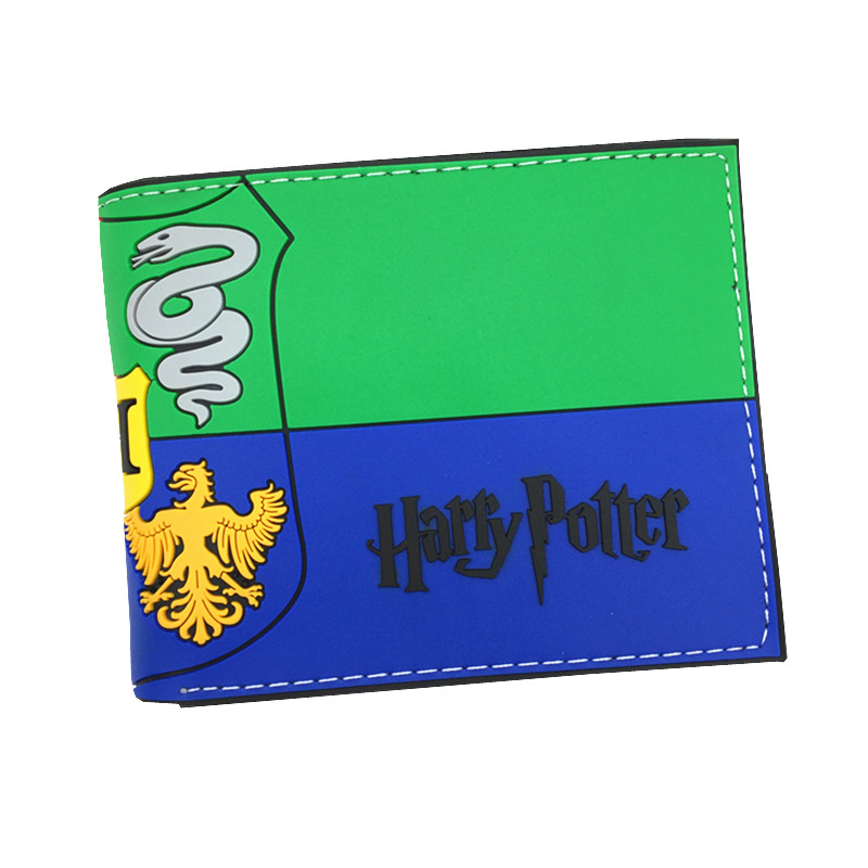 New Arrival PVC Wallet Harry Potter /Pacman /Fantastic Beasts and Where to Find Them Short Purse With Card Holder Dollar Price fvip new arrival wallet harry potter gryffindor attack on titan wonder woman pirates miku with card holder and coin purse bag