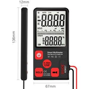 Image 2 - مقياس رقمي متعدد محمول فائق BSIDE ADMS7 شاشة LCD مقاس 3.5 بوصات قياس 3 خطوط الفولتميتر مع الجهد NCV المقاومة أوم هرتز فاحص