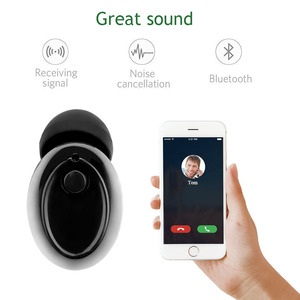 Image 4 - FORNORM Magnetic Mono Small Single Earbuds Hidden Invisible Earpiece Micro Mini Wireless Headset Bluetooth Earphone for iPhone