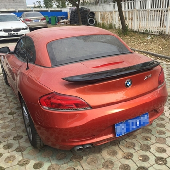 for bmw Z4 e89 spoiler z4 spoiler High Quality ABS Material Car Rear Wing Primer Color spoiler image
