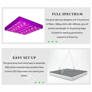 Image 4 - Growing Lamps LED Grow Light 25W 45W AC85 265V Full Spectrum Plant Lights Panel Lamp Phyto For Hydroponics Flowers Vegetables