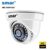 Smar HD 1080P IP Camera SONY IMX323 With 18pcs Nano IR Led Night Vision Security Camera