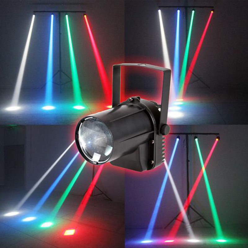 aobolighting 3W pinspot beam disco light show equipment DJ Club LED light beam mini Party Lighting RGB stage sound theatre rg mini 3 lens 24 patterns led laser projector stage lighting effect 3w blue for dj disco party club laser