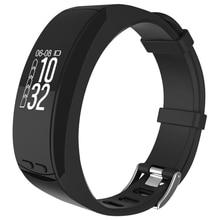 Smart Браслет GPS 0.96 »Сенсорный экран OLED Smart запястье сердечного ритма Мониторы трекер барометр Bluetooth браслет