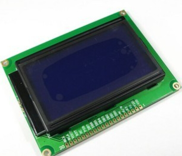 Blue Screen LCD12864 5V Display LCD Screen With Backlight ST7920 Standard Screen 12864 For Arduino