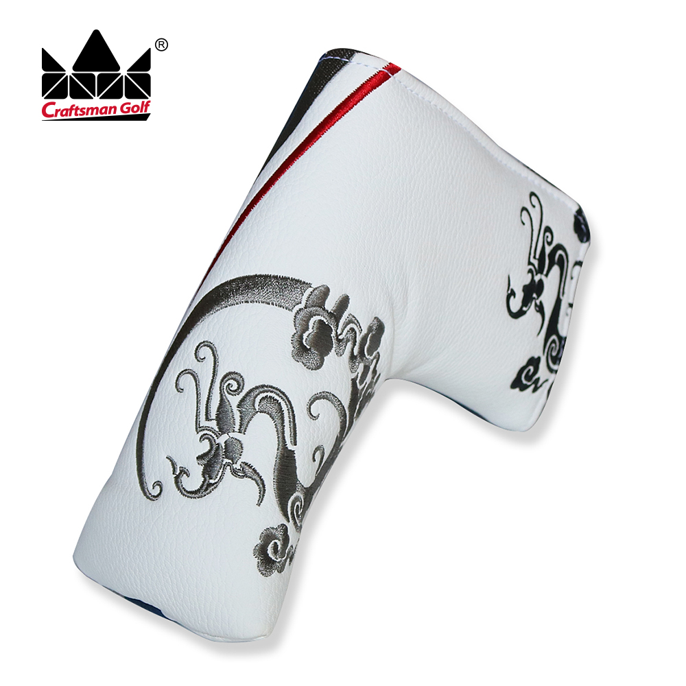 NEW High Quality Dragon Golf Putter Cover Headcover Blade Putter Cover Golf Club Headcover Craftsman Golf FREE SHIPPING
