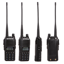 Baofeng UV-82 Walkie Talkie Handheld Dual Band VHF&UHF 136-174MHz&400-520MHz With Double PTT Button Two Way Radio New Design
