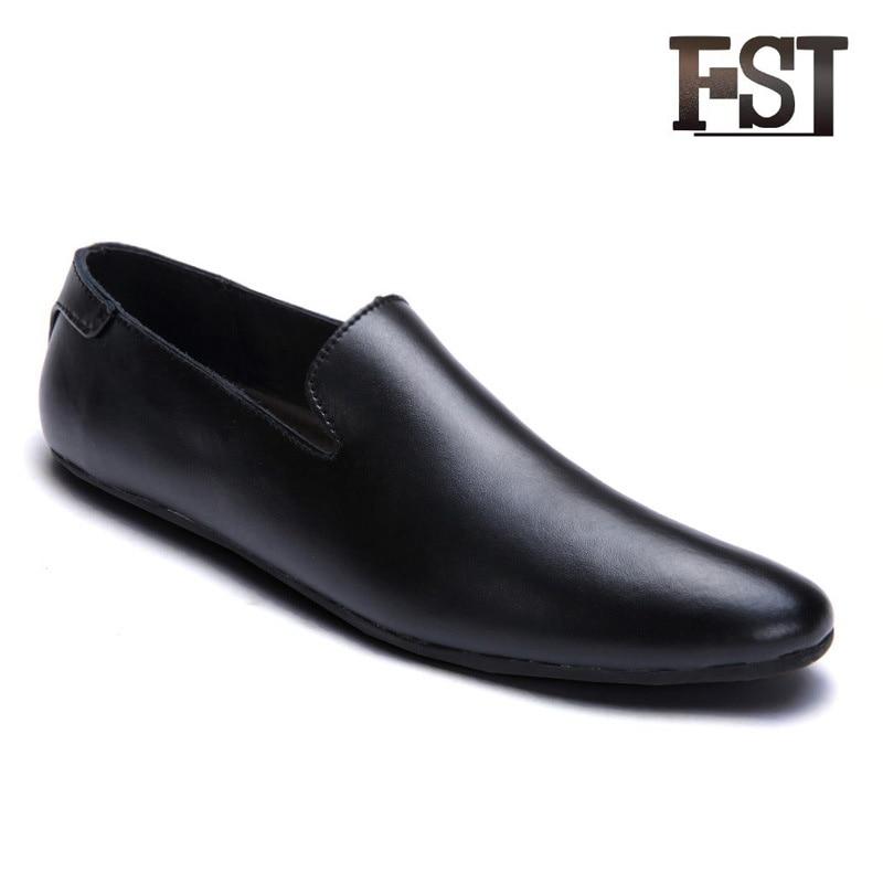 44 fsj02 Tamaño De Fsj fsj03 fsj05 Zapatos Fsj06 fsj04 Clásicos Hombres Mocasines Cuero Genuino fsj01 Casuales Verano 2019 Neutral Los g4F1gqf7n