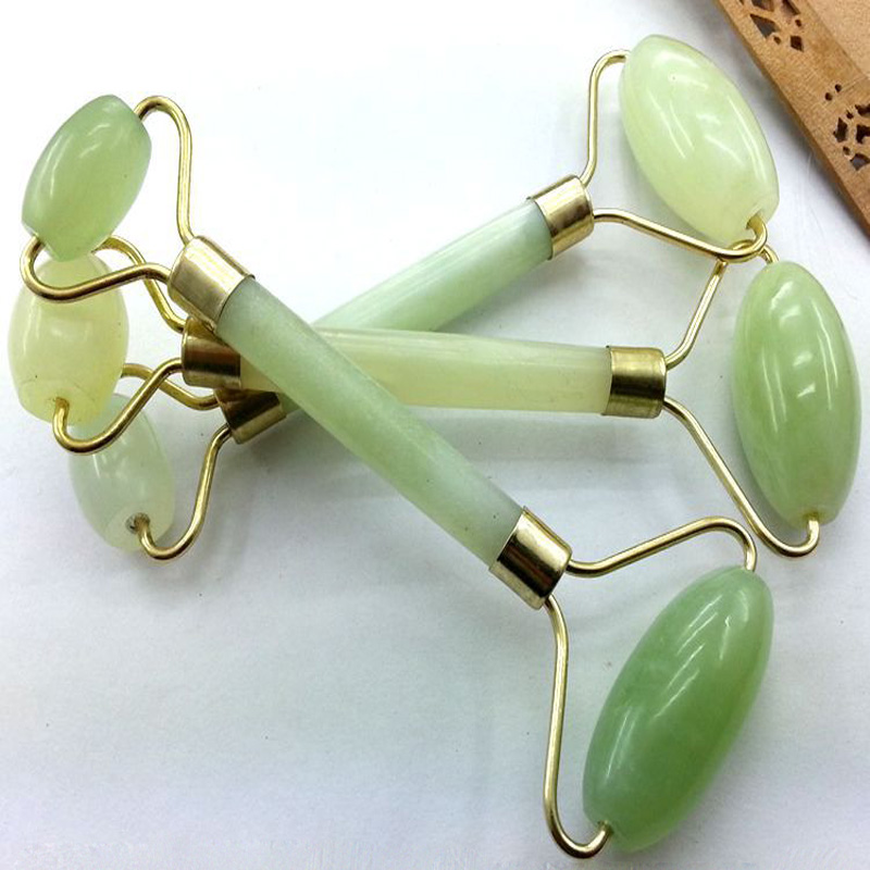 Hot Selling Facial Massage Jade Roller Face Body Head Neck Nature Beauty Device                         May14 HW