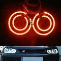 Один комплект CCFL Angel Eyes Кольцо Света Мощность CCFL Angel Eyes Комплект Halo Кольца Головной Свет Для Volkswagen VW Golf 4 IV MK4 1998-2005