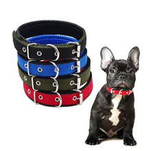 Durable Dog Collar Adjustable Safety Nylon Collars Heavy Duty Anti-Escape for Small Medium Large Dogs