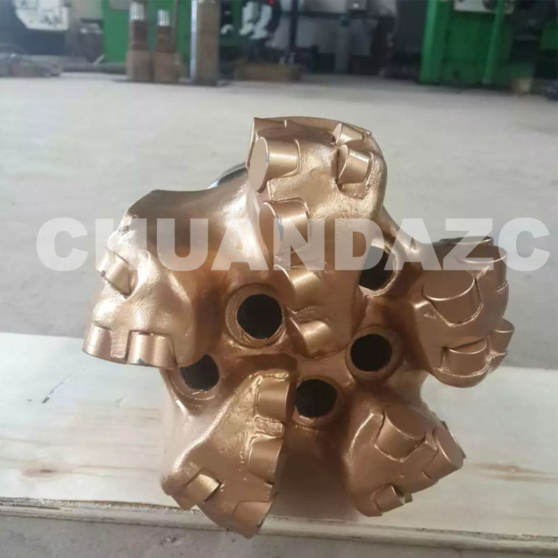 Hot sale 6inch 152 5 blades matrix body PDC bit oil and gas drilling equipment