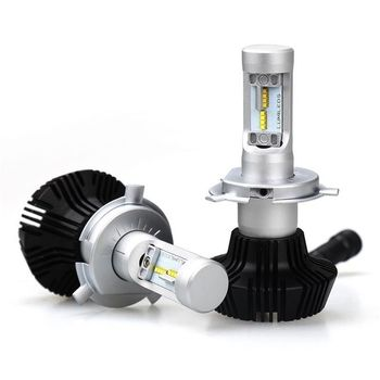 Legal Installation! H4 H7 H11 9005 H1 9012 9006 H10 100W 16000Lm LED Car Headlight Conversion Globes Canbus Bulbs Beam 6000K Kit image