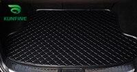 Car Styling Car Trunk Mats For KIA Carens Trunk Liner Carpet Floor Mats Tray Cargo Liner