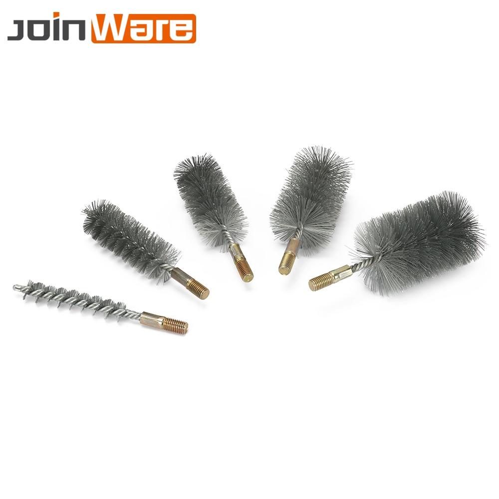 "2//5//10Pcs 4/""Copper Wire Wheel Polishing Brush Grinding Buffing Tool 1//4/""Shank"