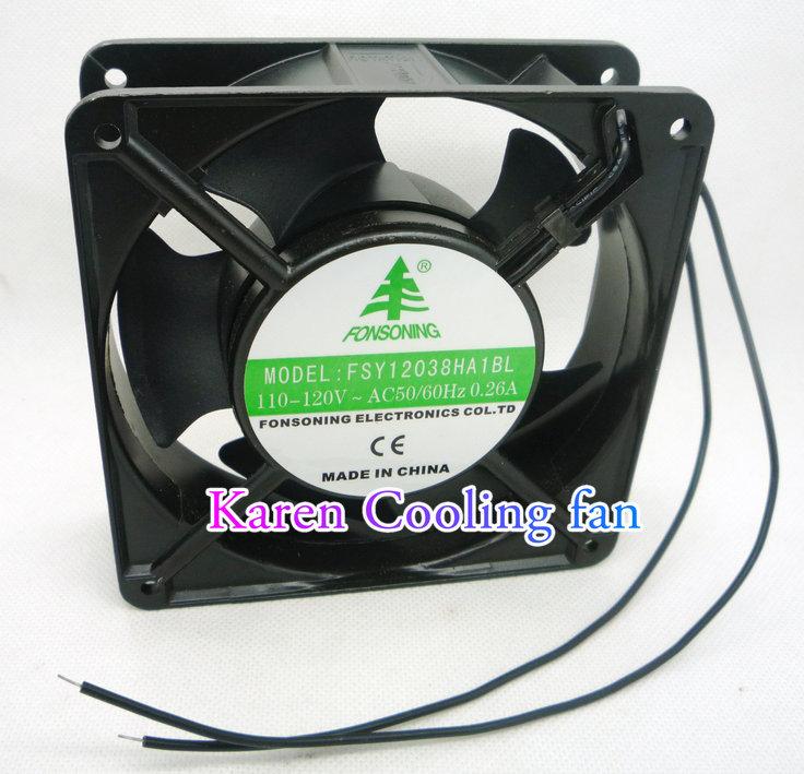 Подробнее о FONSONING 12cm FSY13B110H FSY12038HA1BL 50/60Hz 110v-120v 0.26A RD45-121 12038 100v 16/15w cooling fan измерительный прибор fsy