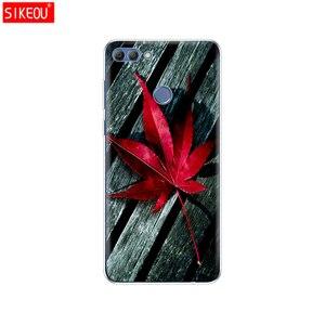 Image 4 - Чехол для телефона huawei P smart 2018 Enjoy 7S, Мягкая силиконовая задняя крышка из ТПУ, 360, полная Защитная прозрачная оболочка с принтом