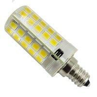 E12 5730SMD светодиодные лампы, 80leds LED con силиконовые лампы, затемнения Супер яркое пятно освещения хрустальные люстры AC110/220 В
