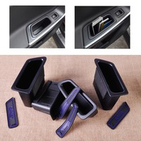 4 Pcs New High Quality Front Rear Door Container Armrest Storage Box Set For VOLVO XC60