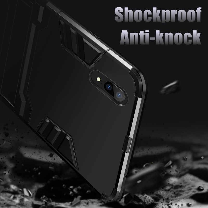 Hard Armor Cases For LG V20 V10 V30S Plus ThinQ Q Stylus 3 Stylo 3 4 X Power G4 K10 Pro Q8 2018 Q6 Plus G6 Mini Case Stand Shell
