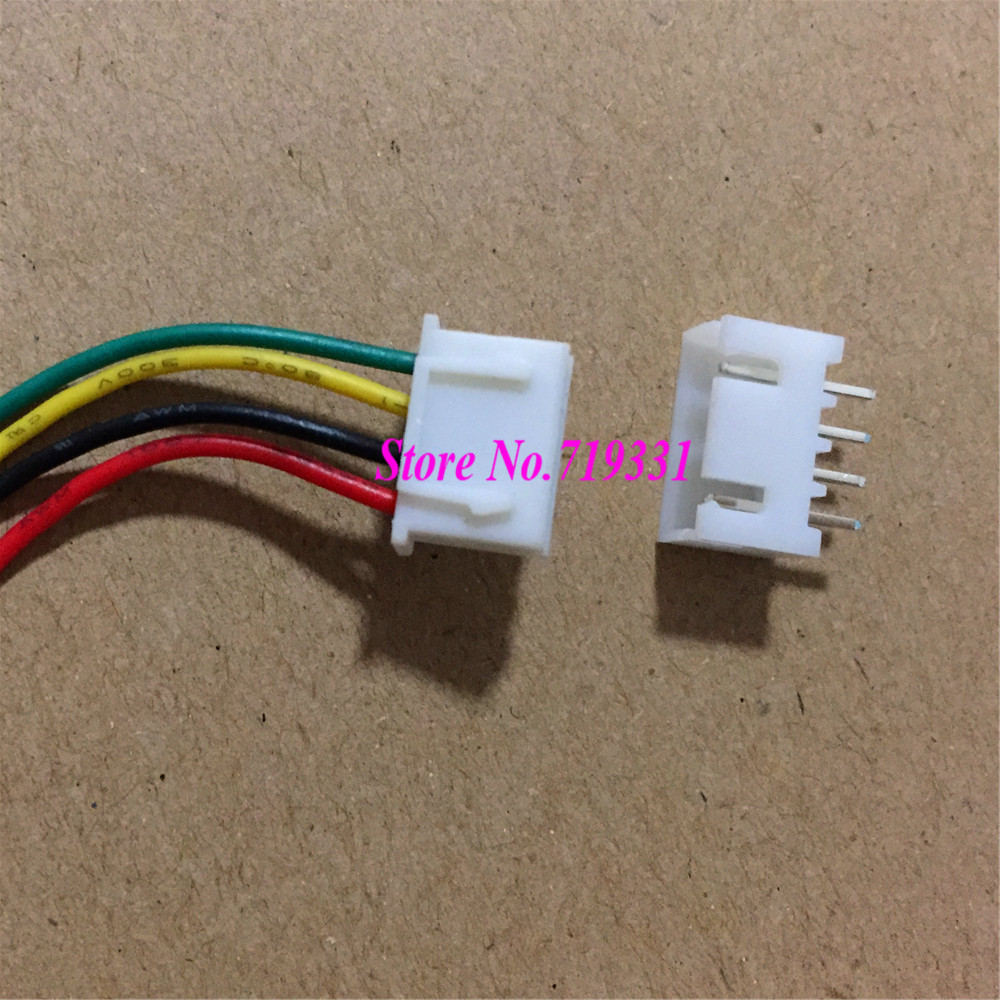 цена на 50 Sets Mini Micro 2.5 4-Pin XHConnector with Wires Cables