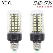High Brightness SMD 5736 Lamparas LED Lamp E27 220V 15W Corn Luz E14 LED Bulbs 85-265V Lampada LED E27 Spotlight Christmas light