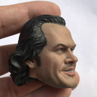 1/6 Scale Male Soldier Shining Evil expression Head Jack Nicholson Head Sculpt for 12inch Action Figure Collection toy