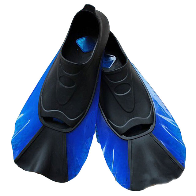 Swim Snorkeling Diving Fins Shoes For Swimming Adult Adjustable Frog Shoes  Silicone Traning Pool Diving Long