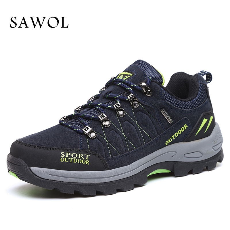 Sawol Brand Men Casual Shoes Men Shoes Men Sneakers Breathable High Quality Plus Big Size 46 47 Men Flats Lace up Spring Autumn ninyoo soft fashion men casual shoes genuine leather flats shoes black high quality breathable students shoes plus size 46 47 48