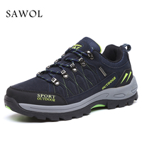Sawol Brand Men Casual Shoes Men Shoes Men Sneakers Breathable High Quality Plus Big Size 46