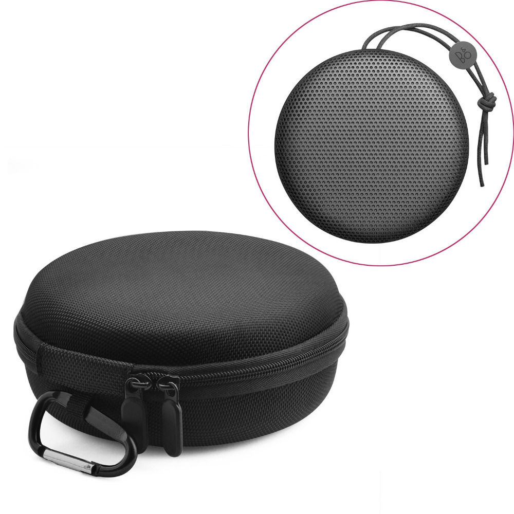 Nylon Travel Carry Zipper Pouch Shockproof EVA Hard Portable Storage Case Bag For B&O BeoPlay A1 Bluetooth Speaker Accessories