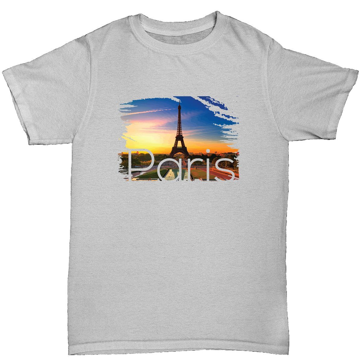 paris men's t shirt funny humour birthday france eiffel tower Print T Shirt Mens Short Sleeve Hot Tops Tshirt Homme Black Style