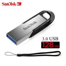 Двойной Флеш-накопитель SanDisk CZ73 USB флэш-накопитель 16 Гб оперативной памяти, 32 Гб встроенной памяти, 64 ГБ USB 3,0 Металлический Шифрование флеш-накопитель 128 ГБ 256 Гб карта памяти запоминающего устройства U диск