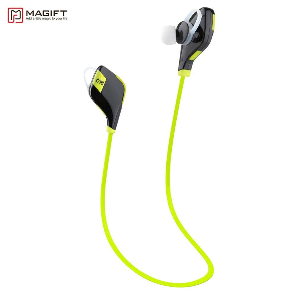 Magift5 Sport Courir Gym Bluetooth Écouteurs V4.1 Casque In-Ear Casque Micro Sans Fil pour iPhone7 6 s Android pour Xiaomi