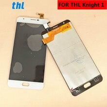 """עבור THL אביר 1 Knight1 LCD תצוגה + מסך מגע Digitizer עצרת החלפת 5.5"""""""