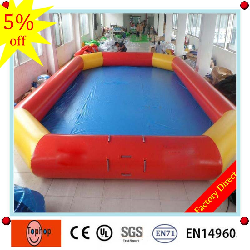 8*5m 0.7mm pvc tarpaulin canvas above ground swimming pool,used ...