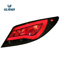 Vland Factory Car Accessories Tail Lamp for Accent Verna Solaris LED Tail Light With DRL+Reverse+Brake