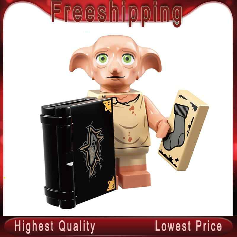 Dobby  Luna Longbottom Trelawney Diggory Dean Thomas Harry Series Potters Building Blocks Gift Toys  WM566