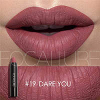New Sexy Nude Lipstick Waterproof Lip Pencils Beauty Batom Velvet Matte Lip Stick Tattoo Red Lip Tint Focallure Makeup