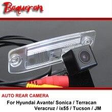 For Hyundai Avante Sonica Terracan Veracruz ix55 Tucson JM Rear view Camera Back up Reverse Camera Car Parking Camera CCD