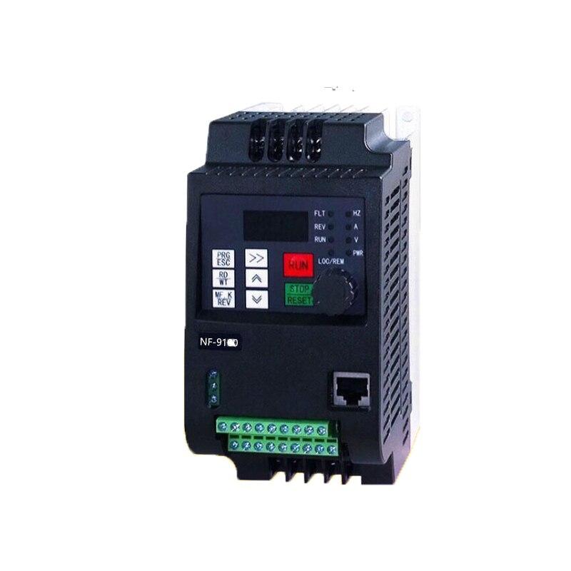 Convertisseur de fréquence monophasé AC 220 V variateur de fréquence variateur de vitesse variateur de fréquence mini VFD