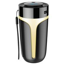Автомобильный ароматизатор увлажнитель воздуха USB QC3.0 очиститель воздуха Bluetooth 5,0 автомобильный комплект громкой связи fm-передатчик MP3 музыкальный плеер