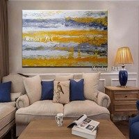 large Hand Painted Abstract Realistic Oil Painting Wall Art Canvas painting wall Picture For Living Room Kitchen Home Decoration