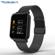 Get more info on the FUWUDIYI Smart Watch Men Waterproof Sport Watch Heart Rate Blood Pressure Monitoring 20day Standby Full Screen Touch Smart watch