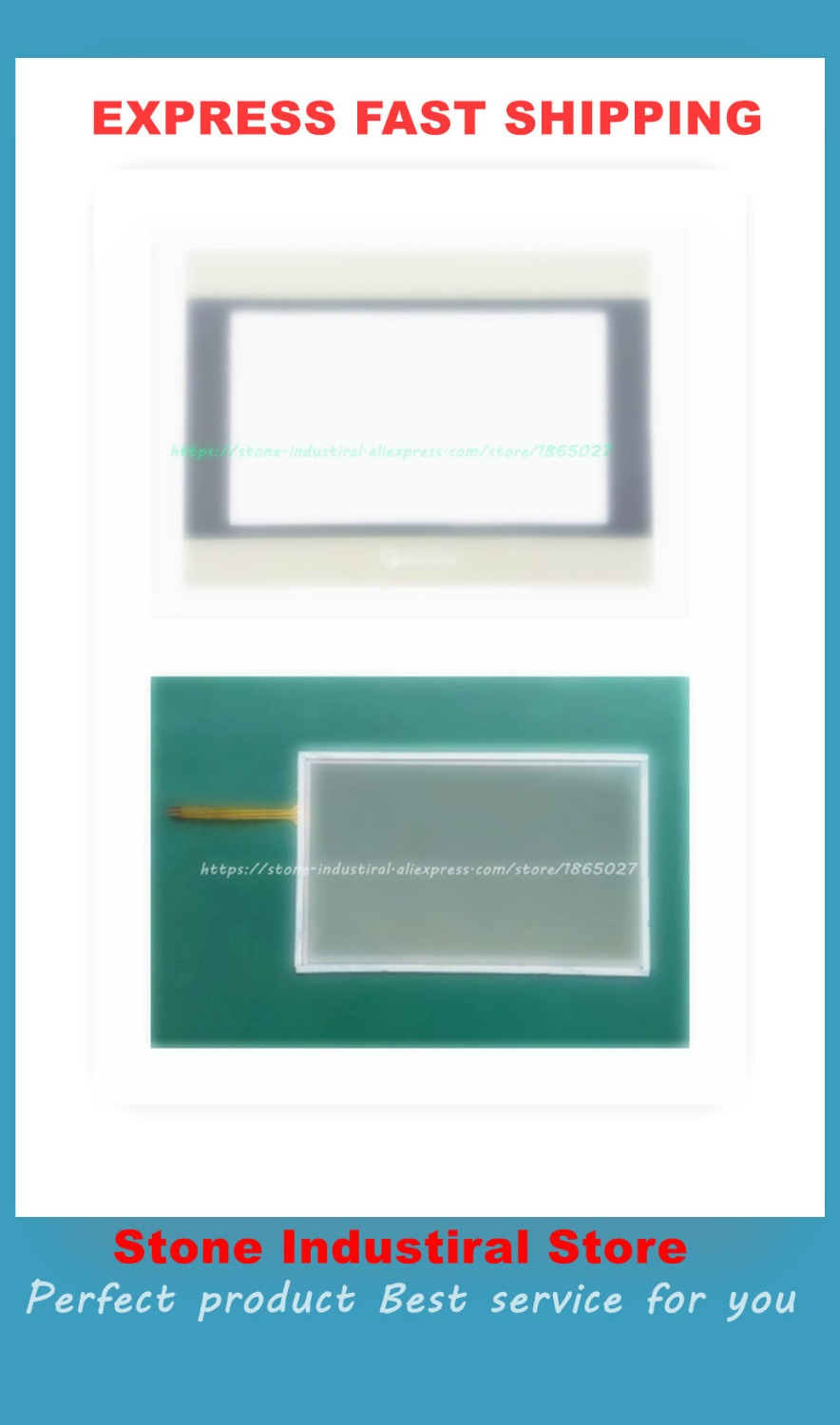 MT6071IE MT6071 touch glass with mask film a set new 6av2 144 8mc10 0aa0 touch glass with film