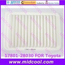 Высокое качество воздушный фильтр для салона 17801-28030 1780128030