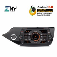 Android Car Stereo DVD Playe 2 Din Autoradio For Kia Ceed 2013 2015 8 IPS Bluetooth GPS Navigation Headunit Free Backup Camera